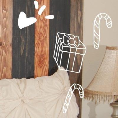 Image of barn walls headboards and dancing sugarplum designs