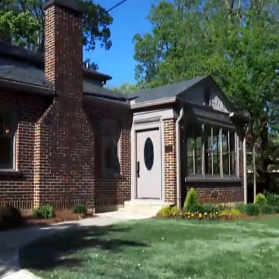 Photo of the house that was recently in Flip or Flop Atlanta, Episode 11