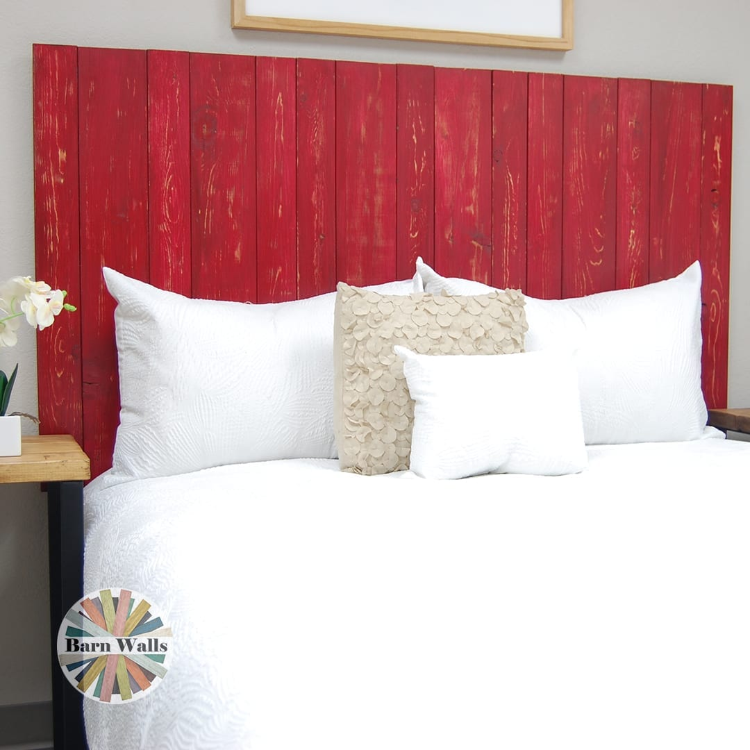 Americana style doesn't have to literally include the American Flag. Add blue and white accents to a red headboard for a subtle play on stars and stripes!