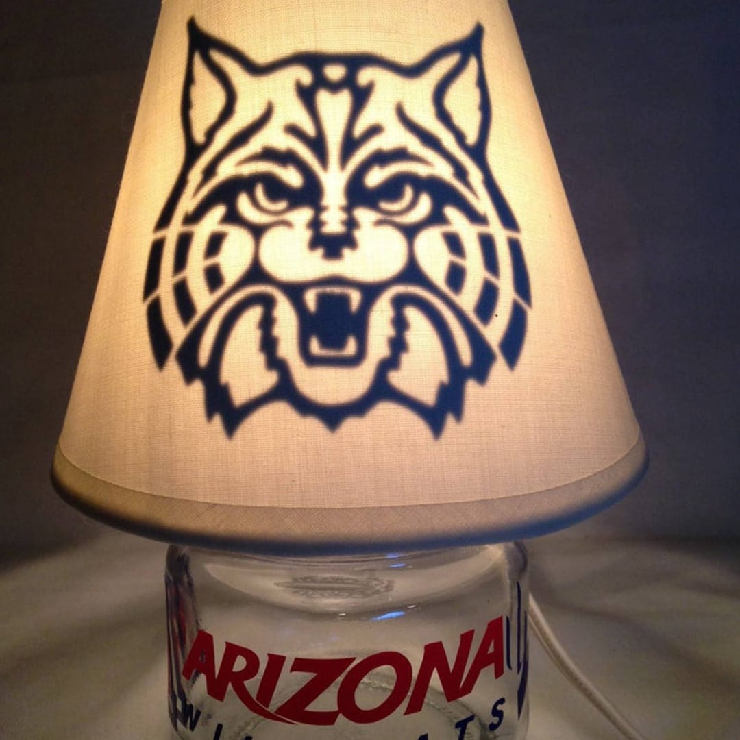 Customize this mason jar night light with any college or university logo.