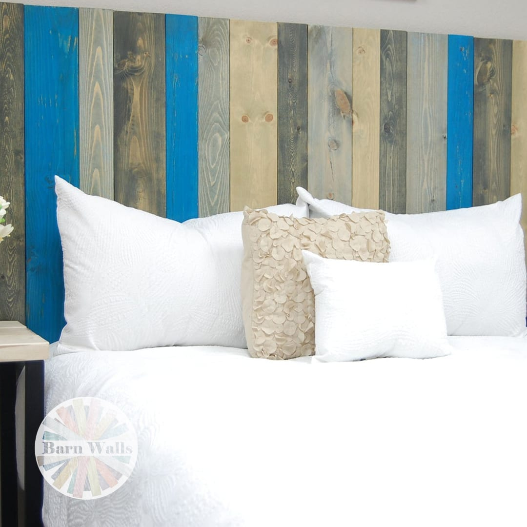 Winter Inspired Headboard