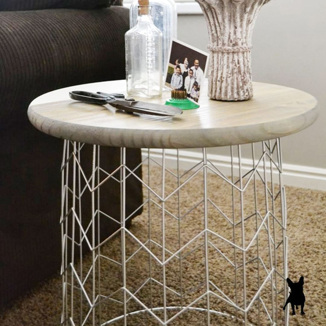 Chic DIY Side Table