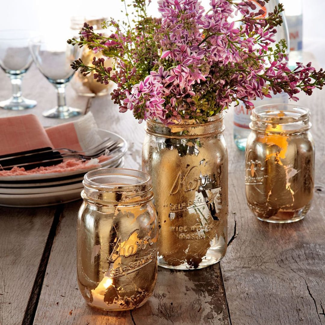 The decor accent pieces shown are beautiful, warm and are timely with the direction of some of the current trends.