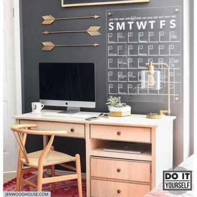 DIY Acrylic Wall Calendar