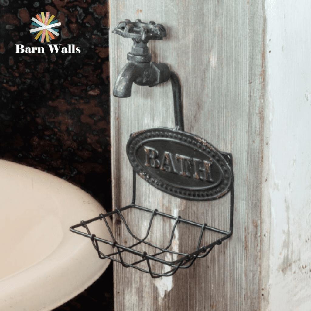 Bath soap holder